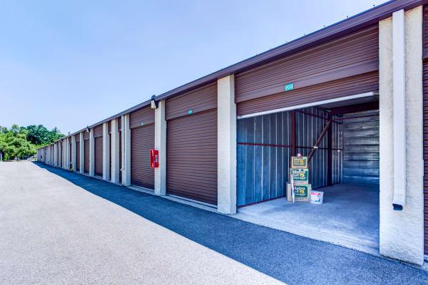 Open outdoor unit at Metro Self Storage in Grayslake, Illinois