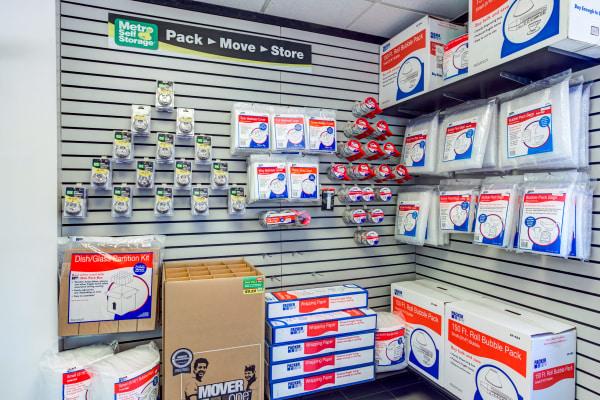 Packaging supplies at Metro Self Storage in Grayslake, Illinois