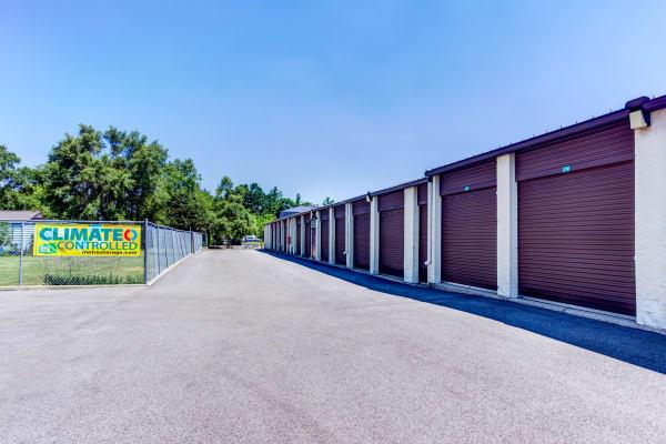 Outdoor units at Metro Self Storage in Grayslake, Illinois