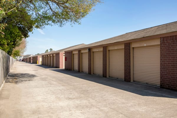 Outdoor units at Metro Self Storage in Houston, Texas