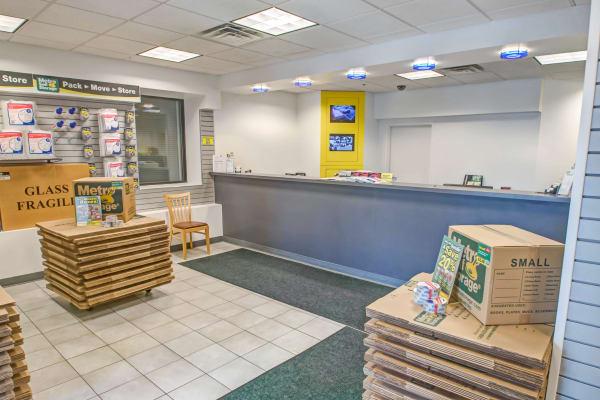 Leasing office reception at Metro Self Storage in Philadelphia, Pennsylvania