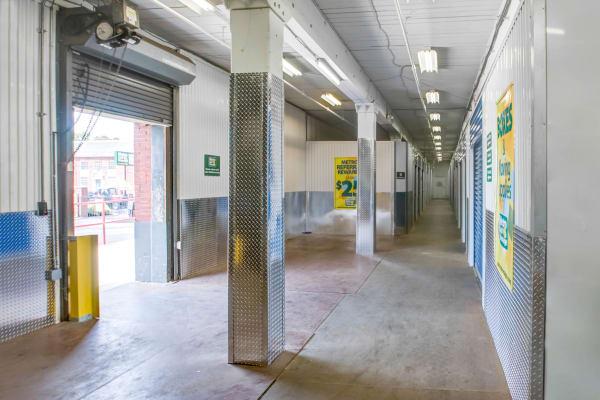 Loading dock interior view at Metro Self Storage in Philadelphia, Pennsylvania