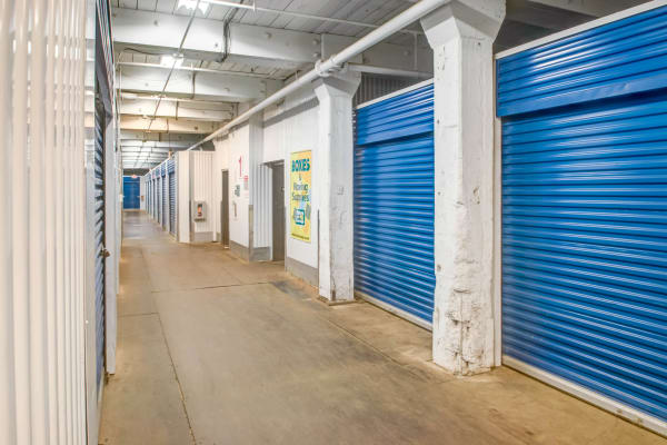 Indoor units at Metro Self Storage in Philadelphia, Pennsylvania