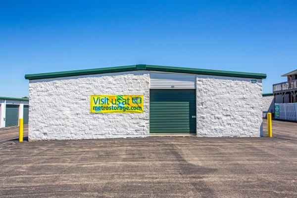 Outdoor unit at Metro Self Storage in Lake Zurich, Illinois