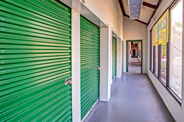 Indoor units at Metro Self Storage in Largo, Florida