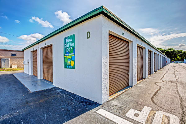 Outdoor units at Metro Self Storage in Largo, Florida