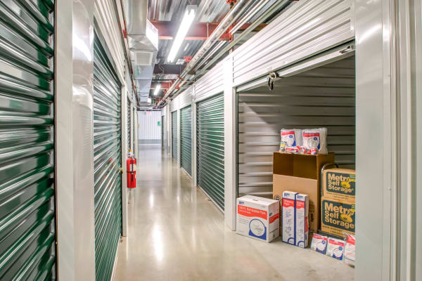Open indoor unit at Metro Self Storage in Limerick, Pennsylvania