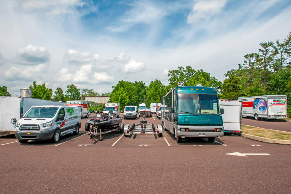 RV, boat storage at Metro Self Storage in Limerick, Pennsylvania