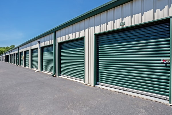 Outdoor units at Metro Self Storage in Lakeland, Florida