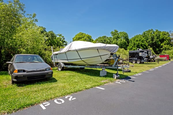 RV, boat storage at Metro Self Storage in Lakeland, Florida
