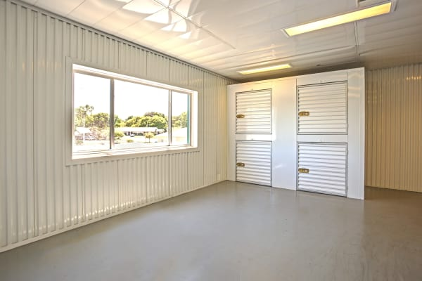 Small indoors storage units at Metro Self Storage in Lakeland, Florida