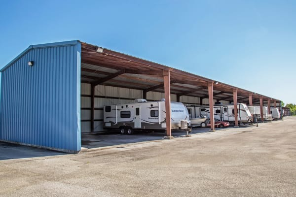 RV, boat storage at Metro Self Storage in La Marque, Texas