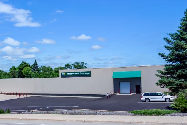 Metro Self Storage offers a parking area in Mound, Minnesota