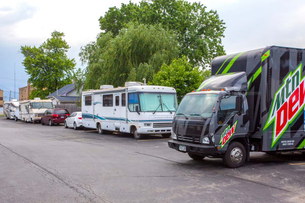 RV storage at Metro Self Storage in Northlake, Illinois
