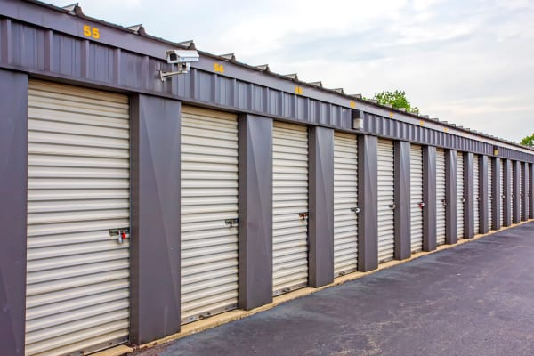 Outdoor units at Metro Self Storage in Northlake, Illinois