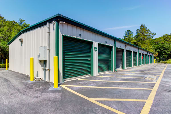 Outdoor units at Metro Self Storage in Tampa, Florida