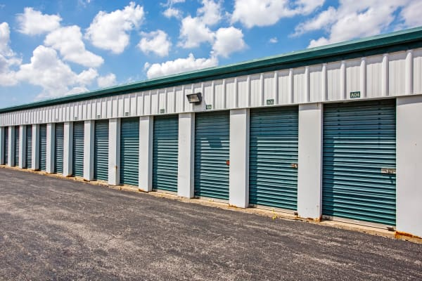 Outdoor units at Metro Self Storage in Oakbrook Terrace, Illinois