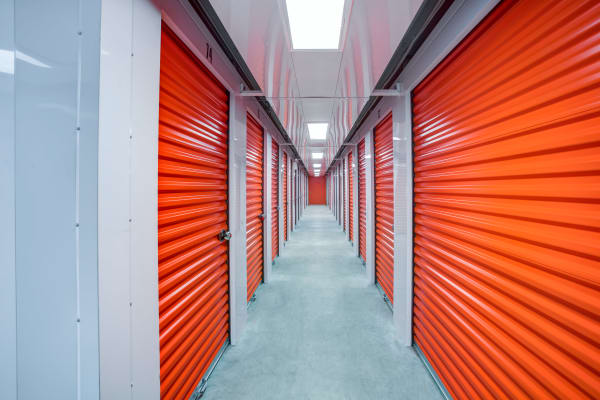 Indoor units hallway at Metro Self Storage in Oakdale, New York