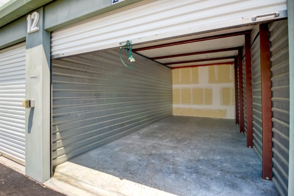 Open outdoor unit at Metro Self Storage in Port Charlotte, Florida