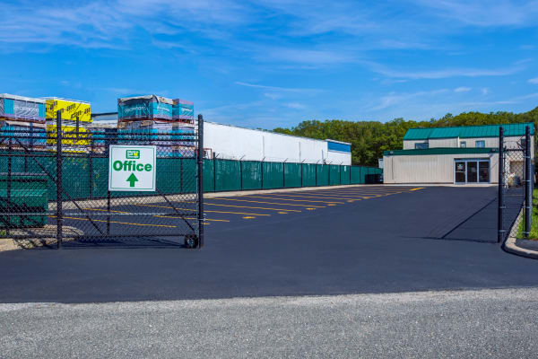 Parking area at Metro Self Storage in Oakdale, New York