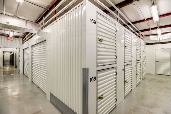 Indoor units at Metro Self Storage in Port Charlotte, Florida