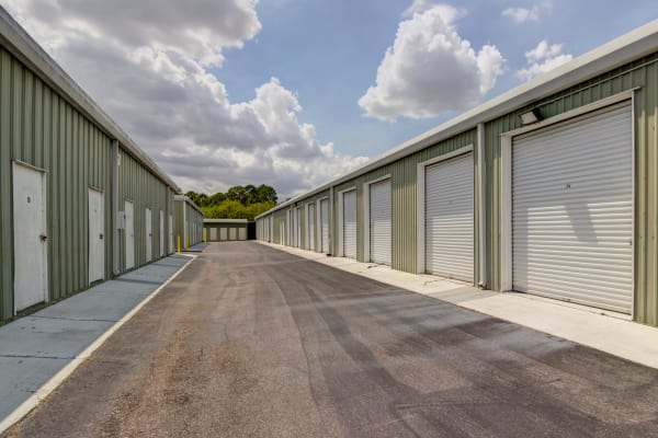 Outdoor units at Metro Self Storage in Port Charlotte, Florida