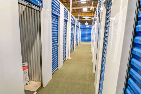 Indoor units hallway at Metro Self Storage in Pennsauken, New Jersey
