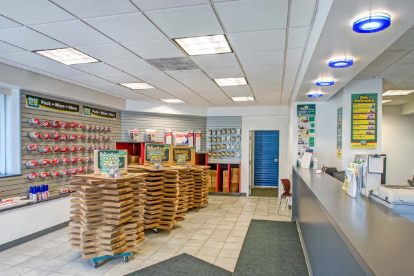 Packaging supplies at Metro Self Storage in Pennsauken, New Jersey