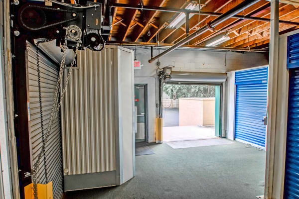 Loading dock interior view at Metro Self Storage in Pennsauken, New Jersey