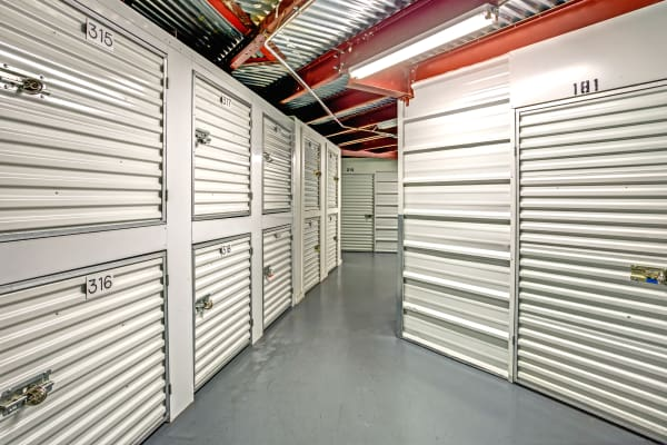 Indoor units at Metro Self Storage in Pinellas Park, Florida