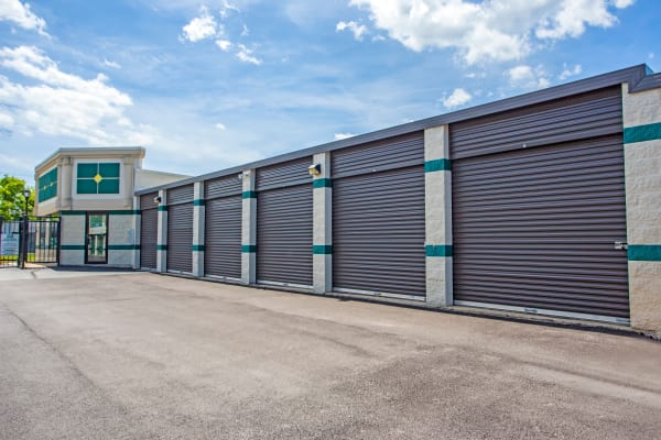 Outdoor units at Metro Self Storage in Palatine, Illinois