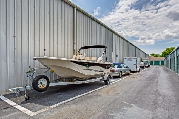 boat storage at Metro Self Storage in Pinellas Park, Florida