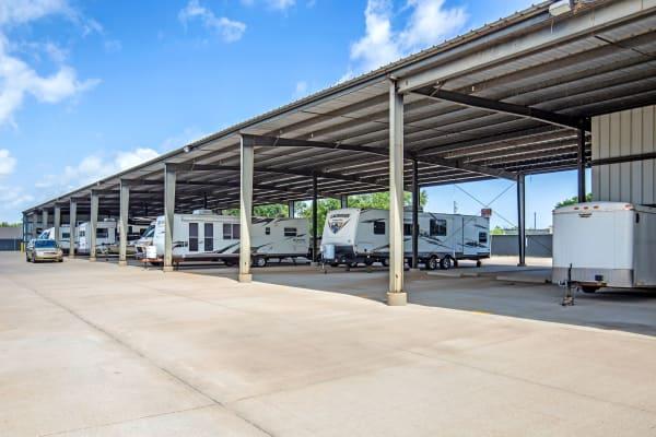 RV storage at Metro Self Storage in Park City, Kansas