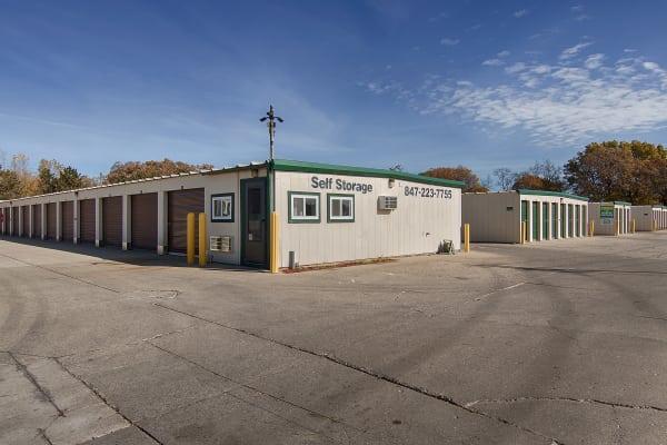 Office exterior view at Metro Self Storage in Round Lake Beach, Illinois