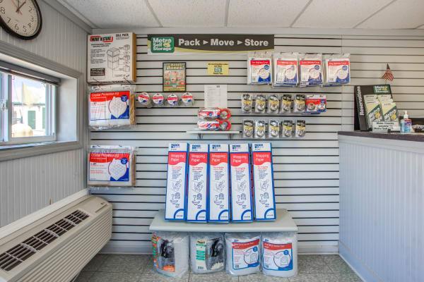 Packaging supplies at Metro Self Storage in Round Lake Beach, Illinois