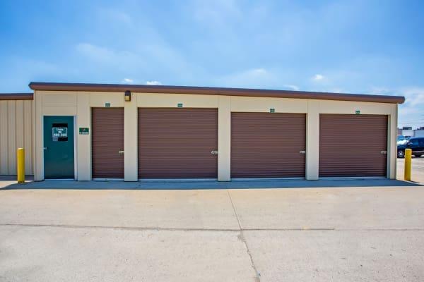 Outdoor units at Metro Self Storage in Round Lake Beach, Illinois