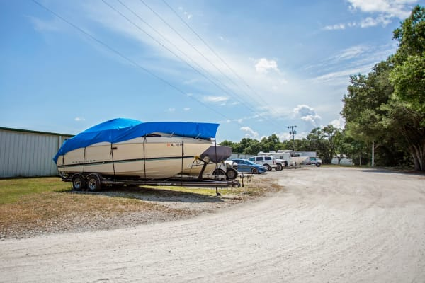 RV and boat storage at Metro Self Storage in Seffner, Florida