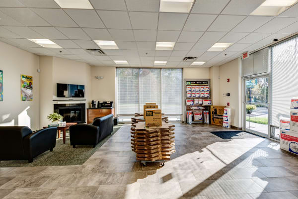 Office interior at Metro Self Storage in Springfield, New Jersey