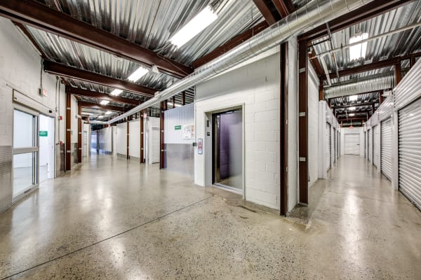 Facility interiorview at Metro Self Storage in Springfield, New Jersey