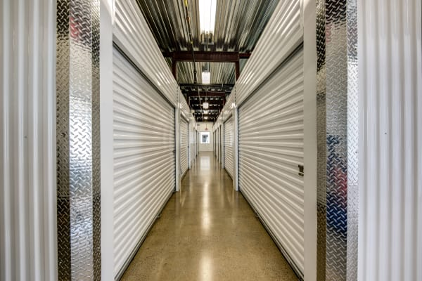 Indoor units hallway at Metro Self Storage in Springfield, New Jersey