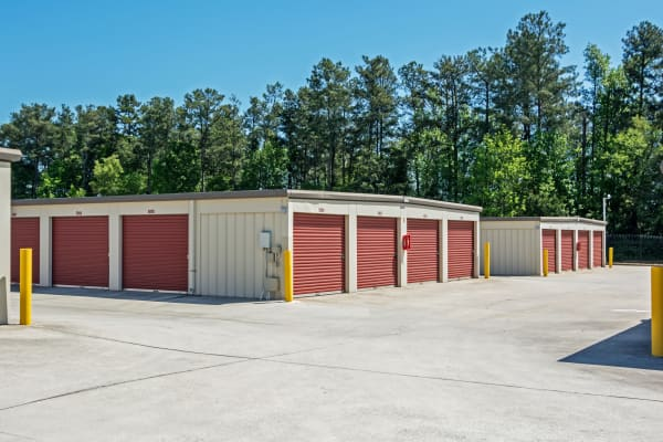 Outdoor units at Metro Self Storage in Stone Mountain, Georgia