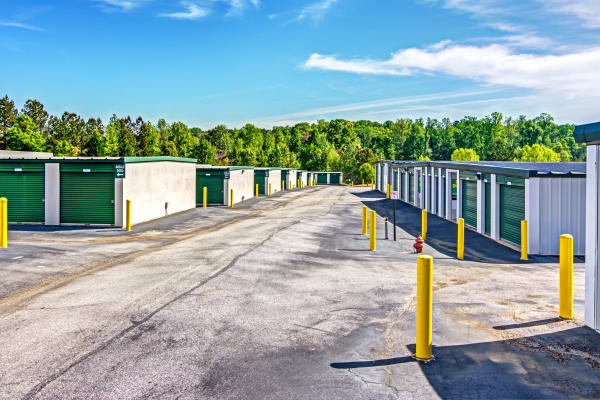 Outdoor units at Metro Self Storage in Stockbridge, Georgia