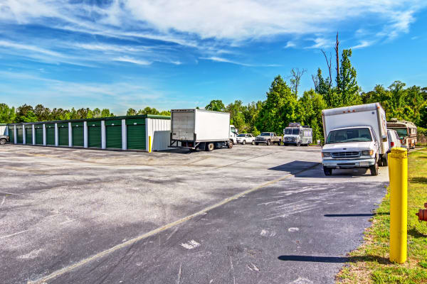RV storage at Metro Self Storage in Stockbridge, Georgia