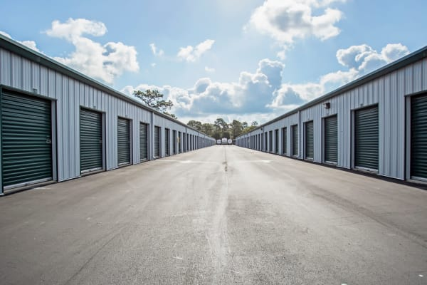 Outdoor units at Metro Self Storage in Spring Hill, Florida