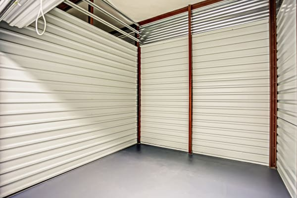 Unit interior at Metro Self Storage in Spring Hill, Florida
