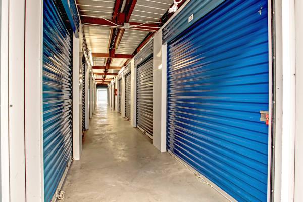 Indoor units hallway at Metro Self Storage in Tampa, Florida