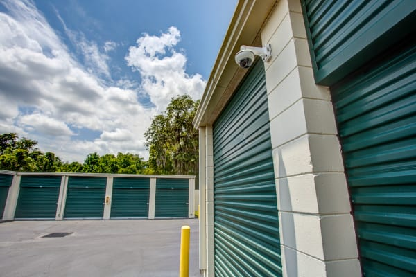 Security camera at Metro Self Storage in Tampa, Florida