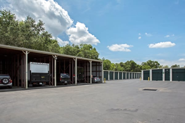 RV storage at Metro Self Storage in Tampa, Florida
