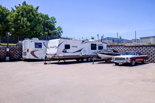 Metro Self Storage offers RV and boat storage service in Topeka, Kansas