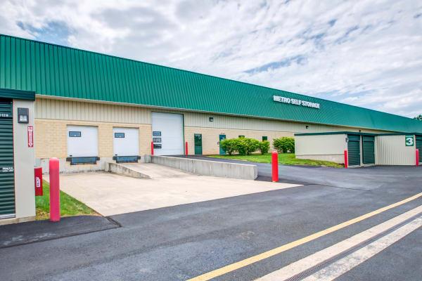 Loading dock exterior view at Metro Self Storage in Trevose, Pennsylvania